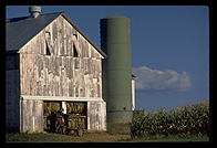 Amish farm.  Pennsylvania.