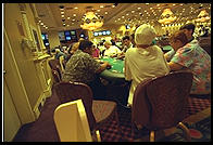 Playing blackjack in Atlantic City (New Jersey)