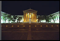 Philadelphia's art museum, from the top of Rocky's steps