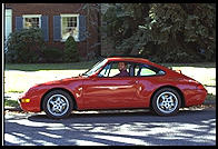 Bart Addis driving the Porsche 911. Bethlehem, Pennsylvania