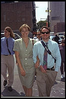 Reed and Kate, Manhattan 1995.