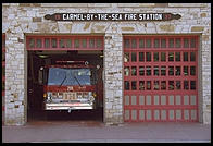 Fire station.  Carmel-by-the-Sea, California
