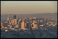 Downtown San Francisco, from Twin Peaks