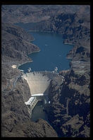 Hoover Dam.  Nevada/Arizona border