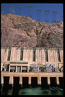 Power equipment at Hoover Dam, on Nevada/Arizona border