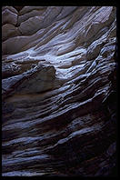 Slot Canyon.  Grand Canyon National Park.