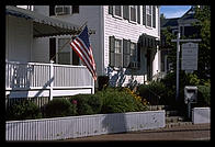 Shiretown Inn, Edgartown, Martha's Vineyard, Massachusetts, notable as the spot where Ted Kennedy spent eight hours before reporting the drowning of Mary Jo Kopechne