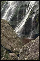 Powerscourt Waterfall.  Wicklow Mountains. Ireland.