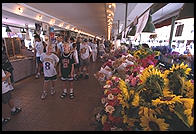 Flowers for sale in the Public Market, Seattle, Washington