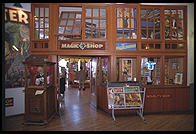 Magic shop in the Public Market, Seattle, Washington