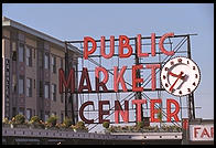 Public Market.  Seattle, Washington.