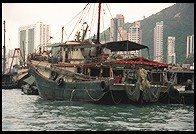 Aberdeen Harbor.  Hong Kong