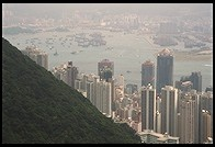 Downtown Hong Kong from Victoria Peak