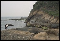 Yenliao Park.  Northeast coast of Taiwan