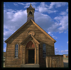 Church.  Bodie, California