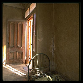Interior.  Bodie, California