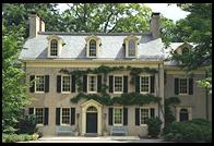 Eleutherian Mills, the original du Pont mansion on the Brandywine River; Wilmington, Delaware