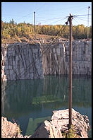 Rock of Ages quarry.  Graniteville, Vermont.