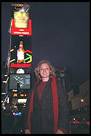 Eve in the New Disneyfield Times Square.  New York City