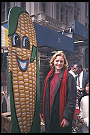Corn and Eve on Wall Street.