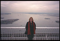 Eve on top of the World Trade Center Observation Deck