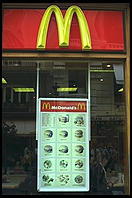 McDonalds. Madrid, Spain