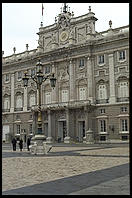 Palacio Real. Madrid, Spain