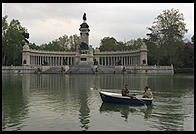 Parque del Retiro.  Madrid, Spain