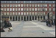 Plaza Mayor.  Madrid, Spain