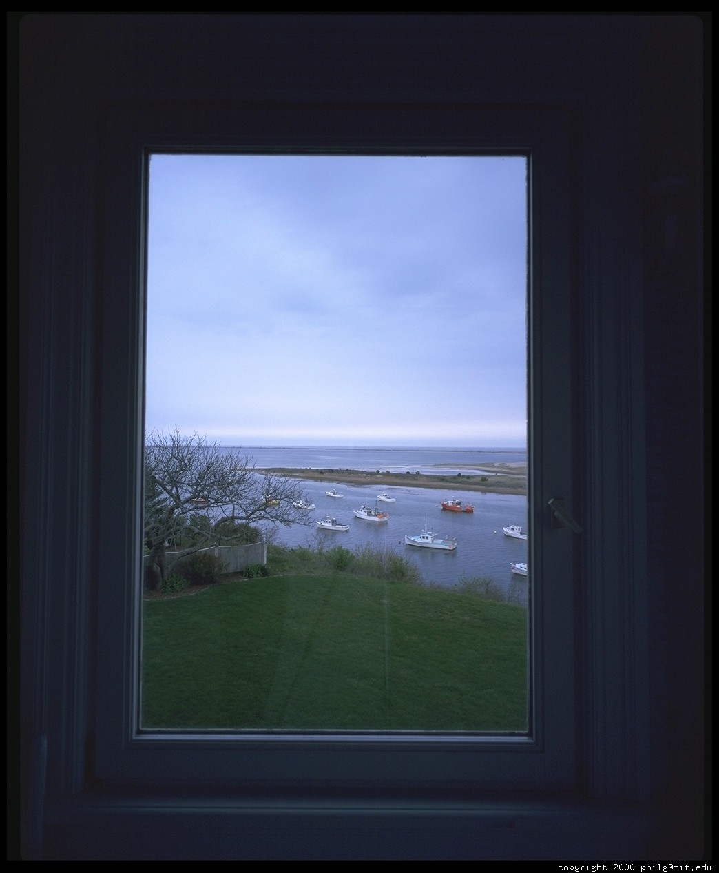 Chatham view through window 13 for 13 window