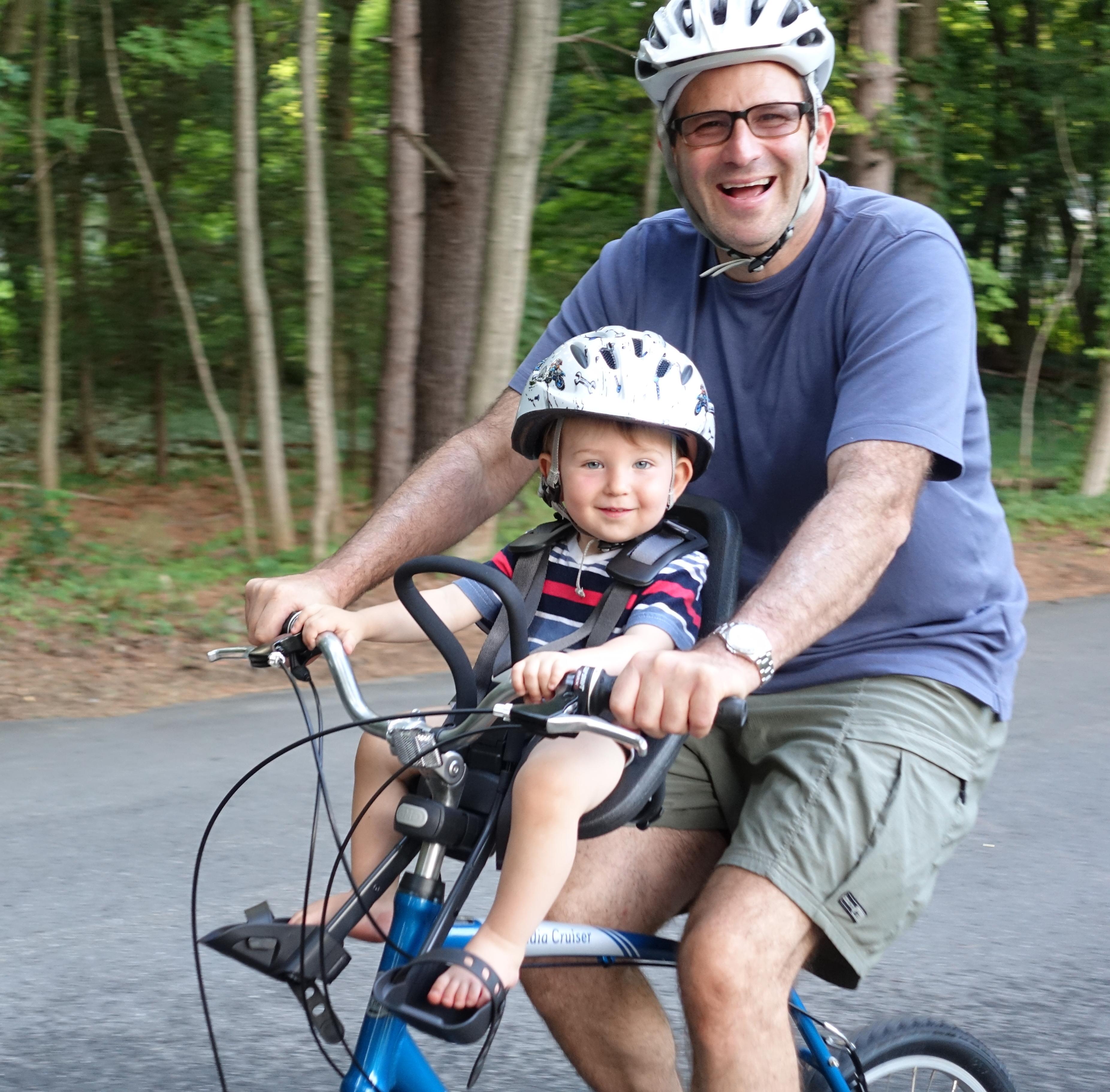 Frontiers Of Biking With Toddlers Yepp Mini Philip Greenspuns Weblog