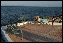 Digital photo titled loreto-seaside-benches-kyle