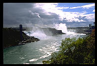 Niagara Falls, from the Rainbow Bridge.