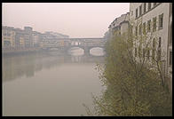 Fog over the Arno