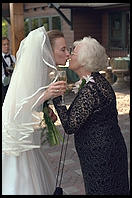 Harry and Katerina's wedding. Lake Placid. September 4, 1999.